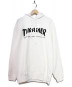 THRASHER(スラッシャー)の古着「プルオーバーパーカー」|ホワイト