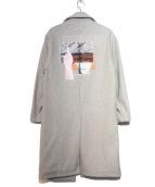 LEGENDA(レジェンダ)の古着「ルーズシルエットチェスターコート」|グレー