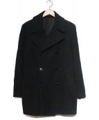 HELMUT LANG(ヘルムートラング)の古着「Pコート」|ブラック