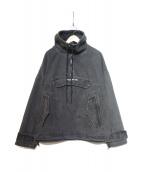 GUESS(ゲス)の古着「デニムアノラックジャケット」|ブラック