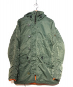 ALPHA(アルファ)の古着「N-3Bタイプコート」|カーキ