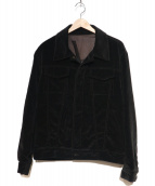 YVES SAINT LAURENT(イヴサンローラン)の古着「ベロアトラッカージャケット」|ブラウン