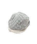 CHANEL(シャネル)の古着「ココマークカシミヤニット帽」|グレー