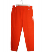 X-LARGE(エクストララージ)の古着「ポーラテックフリースパンツ」|オレンジ