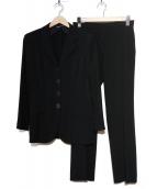 MaxMara(マックスマーラ)の古着「セットアップスーツ」|ブラック