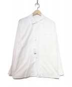 COMOLI(コモリ)の古着「ベタシャンユーテリティージャケット」|ホワイト