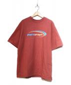 PARAGRAPH(パラグラフ)の古着「SSビッグスウェット」|レッド