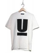 UNDERCOVER(アンダーカバー)の古着「UプリントTシャツ」|ホワイト