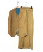Jean Paul Gaultier FEMME(ジャンポールゴルチェ フェム)の古着「 [古着]セットアップスーツ」|ブラウン