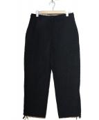 JUNYA WATANABE CDG(ジュンヤワタナベコムデギャルソン)の古着「ナイロンカーゴパンツ」|ブラック