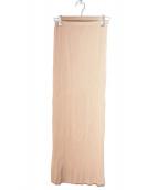 ISSEY MIYAKE(イッセイミヤケ)の古着「プリーツスカート」 ピンク
