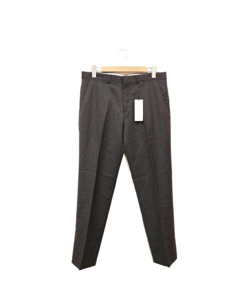 theory(セオリー)theory (セオリー) ウールスラックス グレー サイズ:W32の古着・服飾アイテム