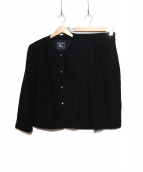 Burberrys(バーバリーズ)の古着「セットアップスーツ」|ブラック