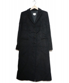 ARMANI COLLEZIONI(アルマーニコレツォーニ)の古着「チェスターコート」|ブラック