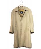 Burberrys(バーバリーズ)の古着「[OLD]ライナー付ステンカラーコート」 ベージュ