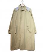 DESCENTE PAUSE(デサントポーズ)の古着「LINER SOUTIEN COLLAR COAT」 ベージュ