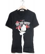 COMME des GARCONS(コムデギャルソン)の古着「中綿変形リメイクTシャツ」|ブラック