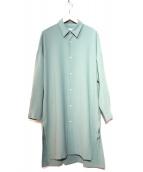 Luis(ルイス)の古着「ロングシャツコート」|グレー