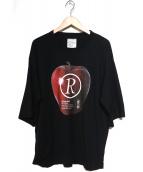 SHAREEF(シャリーフ)の古着「APPLE R S/S」 ブラック