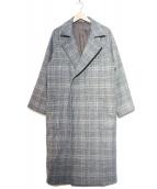 Luis(ルイス)の古着「オーバーサイズコート」 グレー