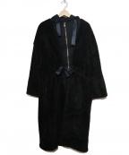 JOHNBULL(ジョンブル)の古着「ミリタリーレイヤードコート」 ブラック