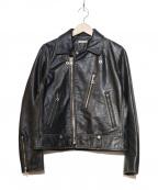 JOHNBULL(ジョンブル)の古着「レザージャケット」 ブラック
