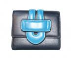 TILA MARCH(ティラマーチ)の古着「2つ折り財布」 ネイビー