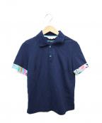 LEONARD SPORT(レオナールスポーツ)の古着「ポロシャツ」|ネイビー