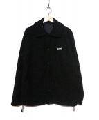 WILD THINGS(ワイルドシングス)の古着「モンスターフリースコーチジャケット」 ブラック