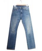 LEVIS VINTAGE CLOTHING(リーバイス ヴィンテージ クロージング)の古着「67S復刻デニムパンツ」|インディゴ