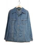 LEE(リー)の古着「ヴィンテージシャツジャケット」|インディゴ