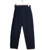 MHL(エムエイチエル)の古着「ベイカーパンツ」|ネイビー