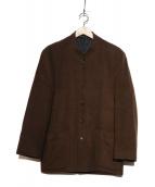 agnes b(アニエスベー)の古着「ウールコート」|ブラウン