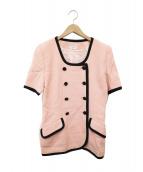 FOXEY BOUTIQUE(フォクシー ブティック)の古着「S/Sテーラードジャケット」|ピンク