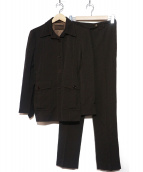 PRADA(プラダ)の古着「セットアップスーツ」|ブラウン