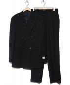 ARMANI COLLEZIONI(アルマーニコレツォーニ)の古着「ダブルスーツ」|ブラック