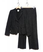 ARMANI COLLEZIONI(アルマーニコレツォーニ)の古着「パンツスーツ」|グレー