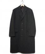 LONDON FOG(ロンドンフォグ)の古着「ツイードチェスターコート」 グレー
