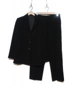 EMPORIO ARMANI(エンポリオアルマーニ)の古着「パンツスーツ」|ブラック