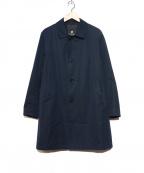BLACK LABEL CRESTBRIDGE()の古着「ステンカラーコート」 ネイビー