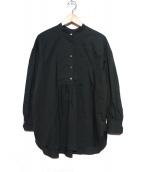 DRESSTERIOR(ドレステリア)の古着「シルキーチュニックブラウス」|ブラック