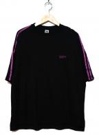 myne(マイン)の古着「ロゴ刺繍Tシャツ」|ブラック