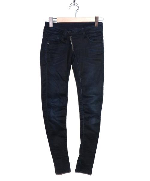 G-STAR RAW(ジースターロゥ)G-STAR RAW (ジースターロゥ) デニムパンツ ブラック サイズ:W25の古着・服飾アイテム