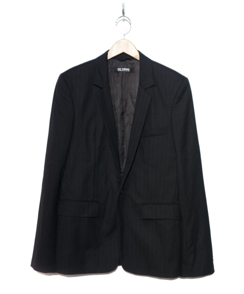RAF SIMONS(ラフシモンズ)RAF SIMONS (ラフシモンズ) ジャケット ブラック サイズ:46の古着・服飾アイテム