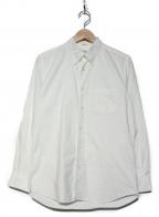 INDIVIDUALIZED SHIRTS(インディビジュアライズドシャツ)の古着「ボタンダウンコットンシャツ」|ホワイト