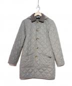 LAVENHAM(ラベンハム)の古着「ウーlルキルティングコート」|グレー