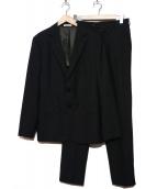 ARMANI COLLEZIONI(アルマーニコレツォーニ)の古着「セットアップスーツ」|ブラック