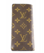 LOUIS VUITTON(ルイヴィトン)の古着「メガネケース」|ブラウン
