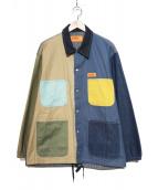 UNIVERSAL OVERALL(ユニバーサルオーバーオール)の古着「ワークジャケット」|ネイビー