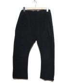 WILLY CHAVARRIA(ウィリーチャバリア)の古着「BUFFALO PANT」|ブラック